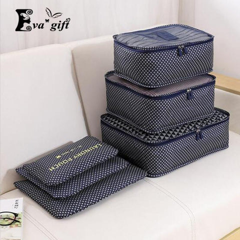 Household portable box waterproof clothes organizer storage box 6pcs/set-storage organizer-Pocket Outdoor-Pocket Outdoor