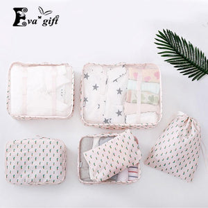 NEW portable cloth Storage bag waterproof organizer 6pcs/set-storage organizer-Pocket Outdoor-Pocket Outdoor