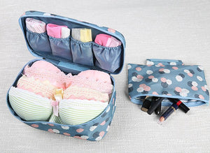 New waterproof clothes organizer storage box underwear bra packing-storage organizer-Pocket Outdoor-Pocket Outdoor