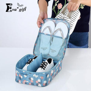Printing patterns shoes bag storage box for travel-storage organizer-Pocket Outdoor-Pocket Outdoor