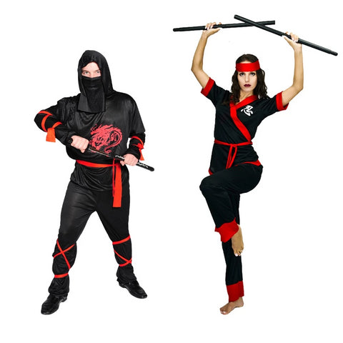 Ninja Couple Costume: Classic Edition-Costume-PocketOutdoor-PocketOutdoor