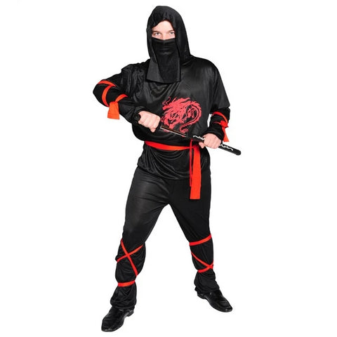 Ninja Couple Costume: Classic Edition-Costume-PocketOutdoor-CC016-PocketOutdoor