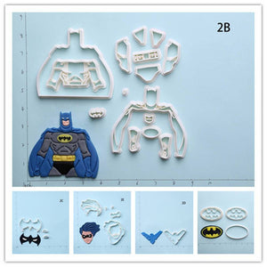 Batman Nightwing Cookie Cutter Set | Stamp and Mold-kitchen-Pocket Outdoor-Pocket Outdoor