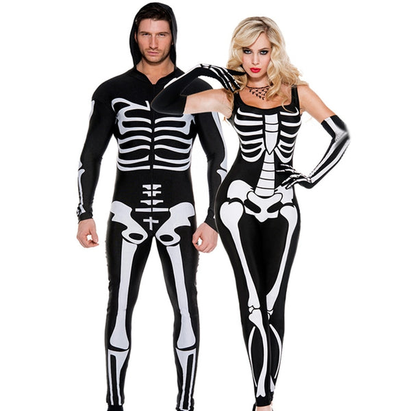 Skeleton Costume for Couples