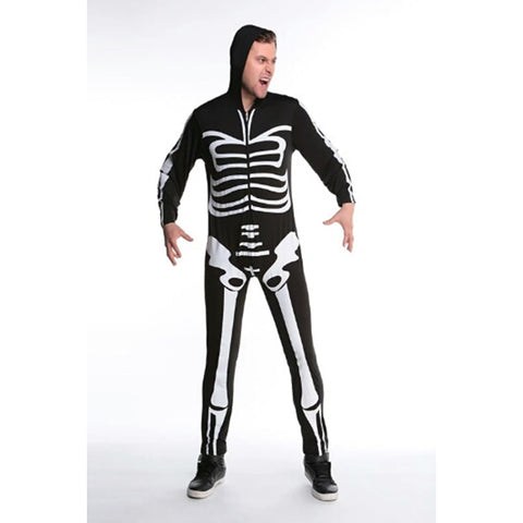 Couple Skeleton Costume Limited Edition-Costume-PocketOutdoor-Black-S-PocketOutdoor