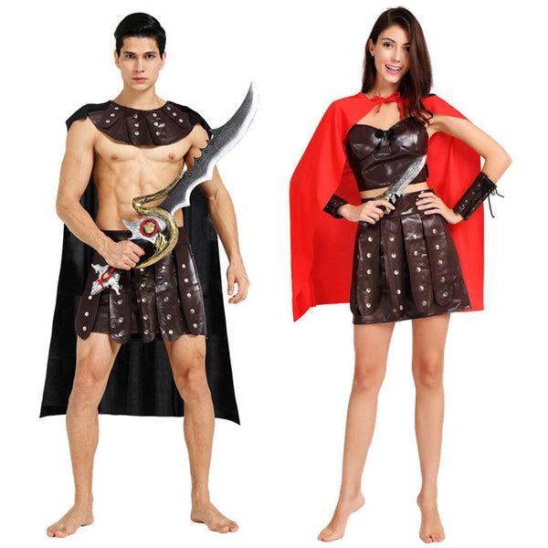 Spartan Costume for Couples