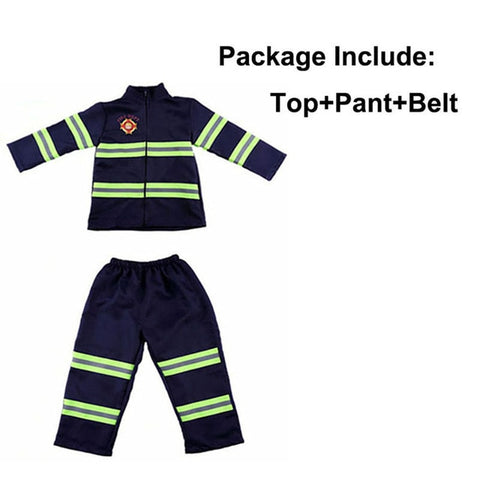 Kids Firefighter Costume-PocketOutdoor-Blue-3T-PocketOutdoor