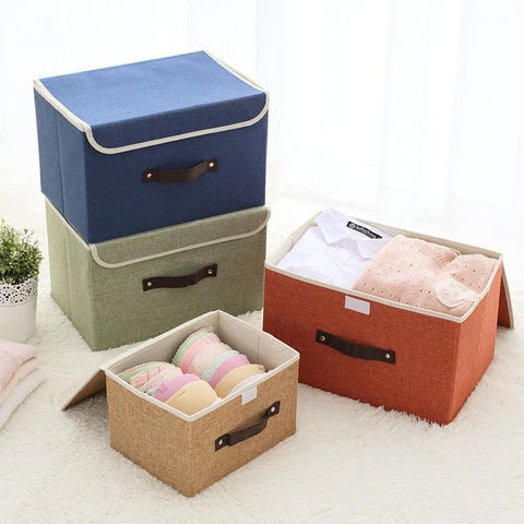 Solid color small fresh storage box-storage organizer-Pocket Outdoor-Pocket Outdoor