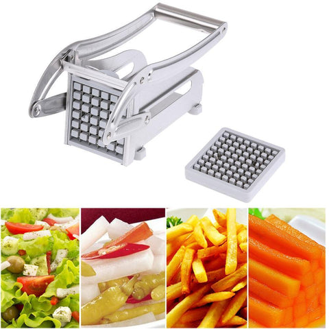 Stainless Steel French Fries Cutter-kitchen-Pocket Outdoor-Pocket Outdoor