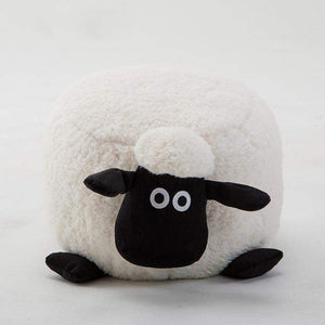 Washable Stool with Storage: Sheep Edition-sofa-Pocket Outdoor-White no leg washable-Pocket Outdoor