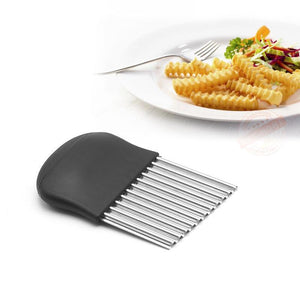 Wavy Crinkle Cutting Tool French Fry Slicer-kitchen-Pocket Outdoor-Pocket Outdoor