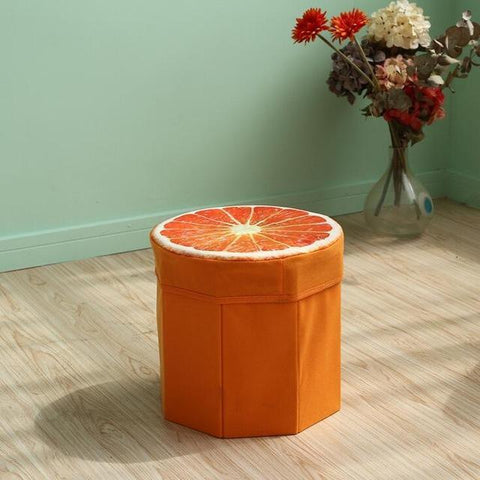 Wood Pattern home storage box-storage organizer-Pocket Outdoor-Orange-China-Pocket Outdoor