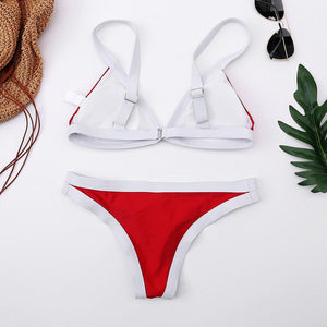 Spell Color Beach Swimsuit