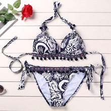 Load image into Gallery viewer, Fashion Sexy Printed Bikini Set
