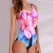 Load image into Gallery viewer, Floral Printed Wireless Backless One Pieces Swimwear