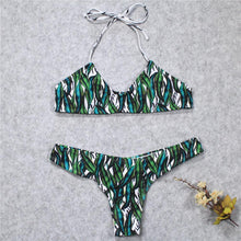 Load image into Gallery viewer, Summer Green Sexy Bikini Set