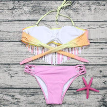 Load image into Gallery viewer, Fashion Tassel Sexy Swimwear Set