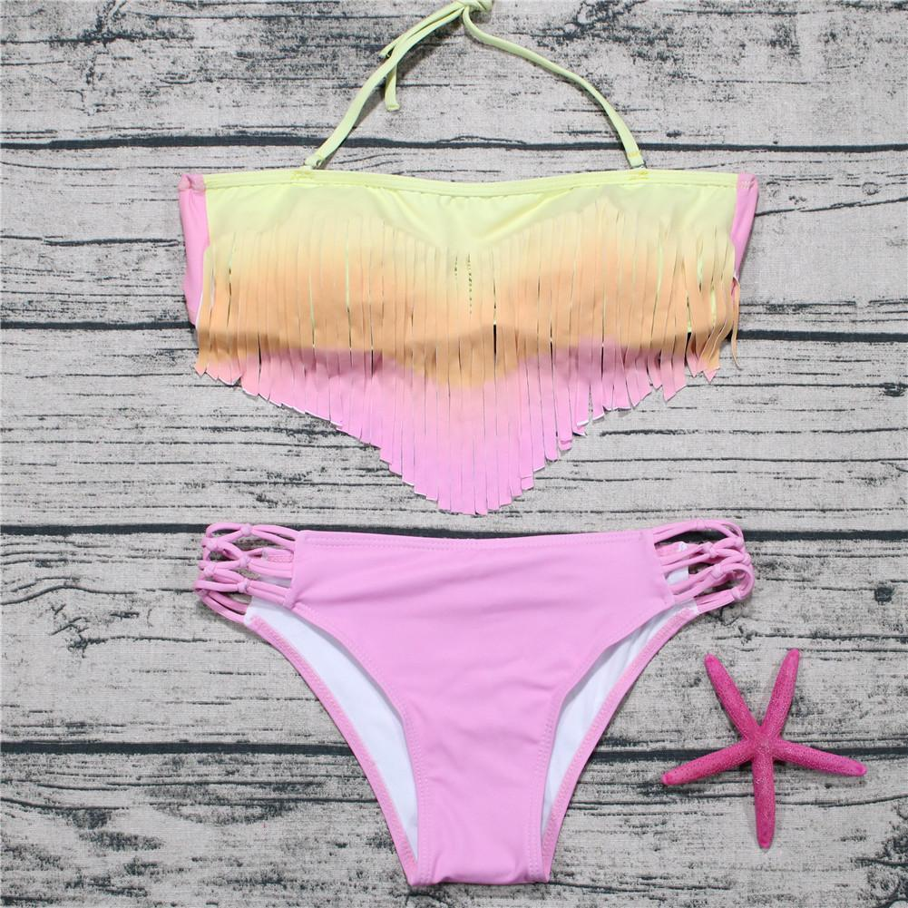 Fashion Tassel Sexy Swimwear Set