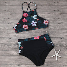 Load image into Gallery viewer, High Waist Sexy Printed Swimsuit Set