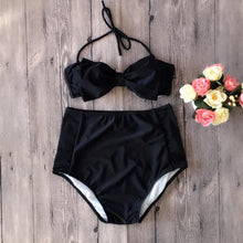 Load image into Gallery viewer, Lovely Bow-Knot Halter Swimwear