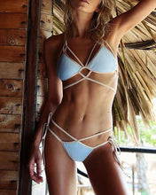 Load image into Gallery viewer, Sexy Glamour Solid Color Sexy Swimwear