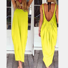 Load image into Gallery viewer, Open Back Full Length Sundress