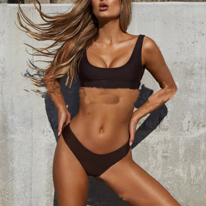 Sexy Split Swimsuit Ladies Swimwear