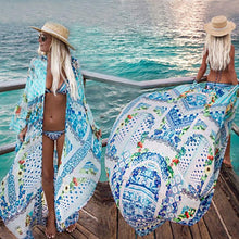 Load image into Gallery viewer, Casual Loose Printing Cardigan Chiffon Beachwear