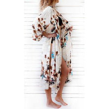 Load image into Gallery viewer, Casual Coconut Pattern Cardigan Beachwear