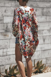 Print  Casual Basic Cover Ups