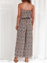 Load image into Gallery viewer, Fashion Off-Shoulder Printed Colour Jumpsuits