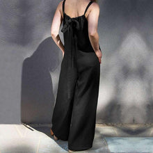 Load image into Gallery viewer, Fashion Sleeveless Casual Loose   Wide Leg Pants Jumpsuit