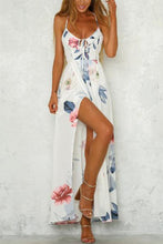 Load image into Gallery viewer, Elegant Sexy Floral Print Vacation Maxi Dress