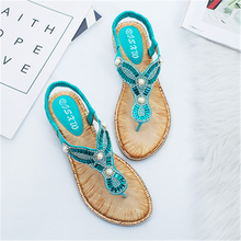 Load image into Gallery viewer, Sandwich Toe Round Pearl Decorative Sandals