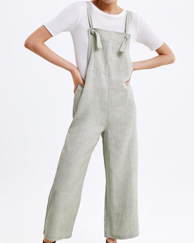 Cool Girl Pocket Straps   Adjustable Jumpsuit