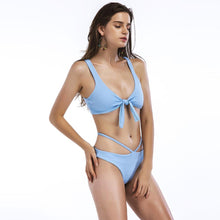 Load image into Gallery viewer, New Style Solid-Color Bikini Swimwear