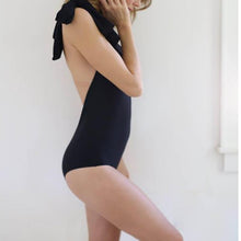 Load image into Gallery viewer, Elegant One-Shoulder Backless Swimsuit
