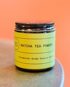 Matcha Tea Powder (Ceremonial Grade Organic)