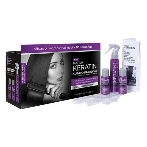 Keratine Treatment Kativa (3 pcs)