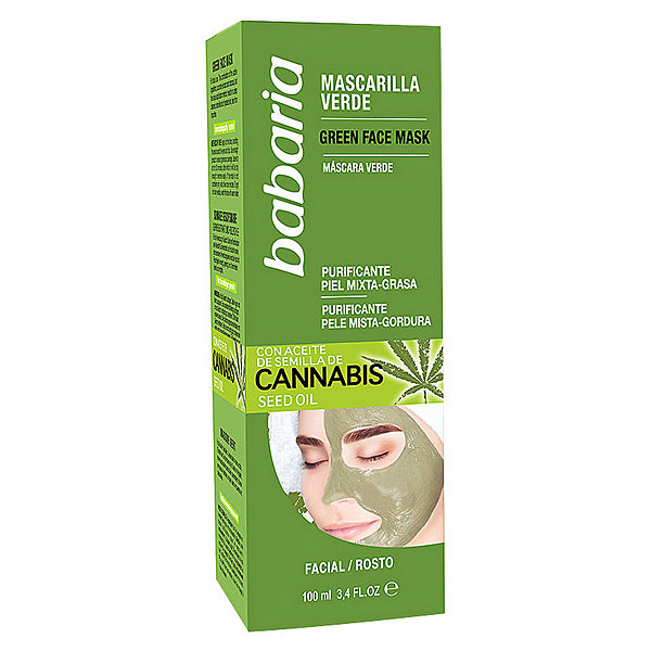 Purifying Mask Cannabis Babaria (100 ml)