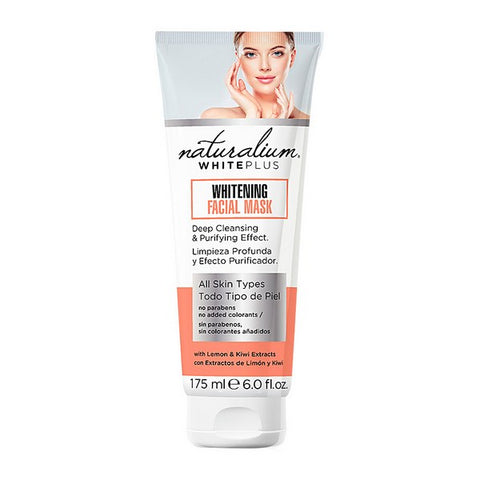 Facial Mask White Plus Naturalium (175 ml)