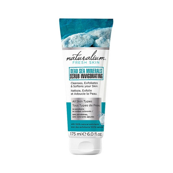 Exfoliating Cream Dead Sea Minerals Naturalium (175 ml)