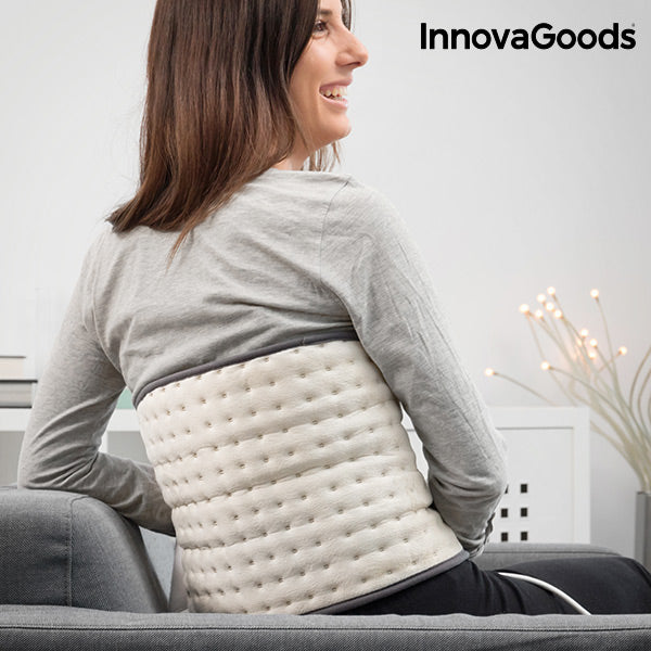 InnovaGoods Electric Pad for Lower Back 26 x 69 cm 100W Beige