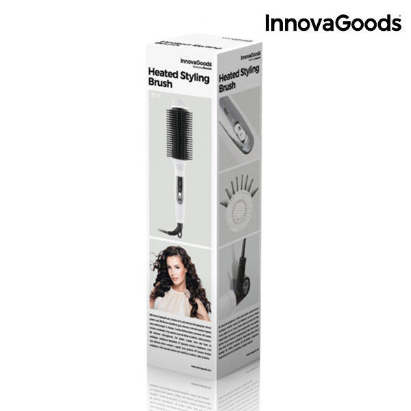 InnovaGoods Heated Styling Brush