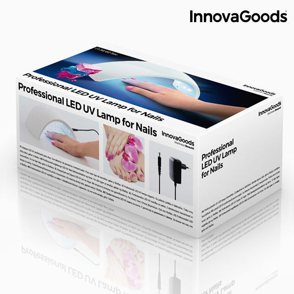 InnovaGoods Professional LED UV Lamp for Nails
