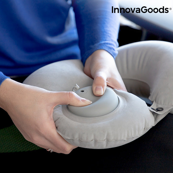 InnovaGoods Auto-Inflatable Neck Cushion