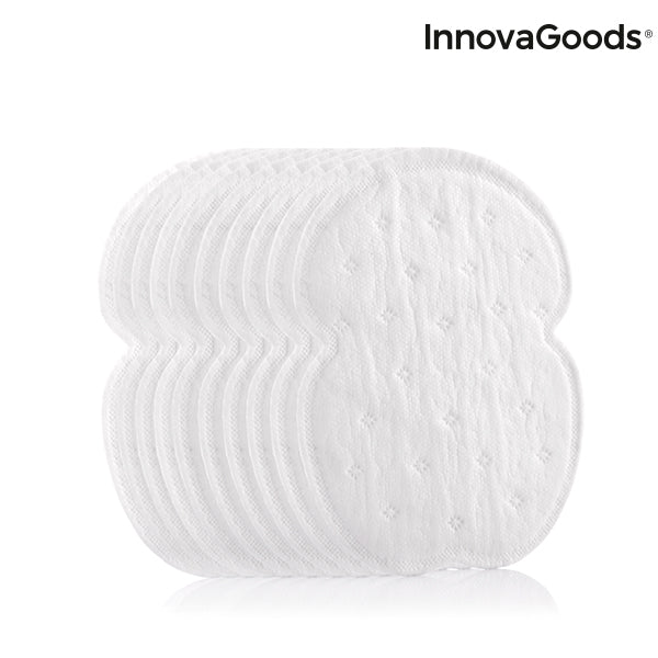 InnovaGoods Stain Stop Underarm Pads (Pack of 10)