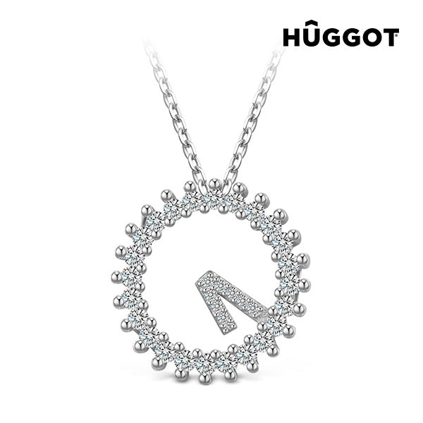 Hûggot Only One 925 Sterling Silver Pendant with Zircons (45 cm)