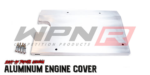 2011-16  Toyota Sienna Aluminum Engine Cover