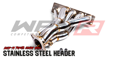 2018-19 Toyota Camry 4Cyl Stainless Steel Header